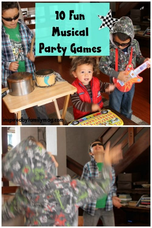 10 Fun Musical Party Games for kids of all ages! toddler-upper elementary age children