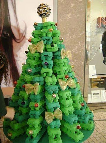 10 Modelos de Árvore de Natal com Material Reaproveitado   Reciclagem no Meio Ambiente