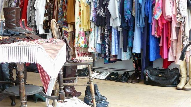 Thrift shops