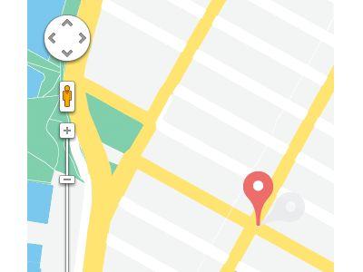 Google Maps Flat Design