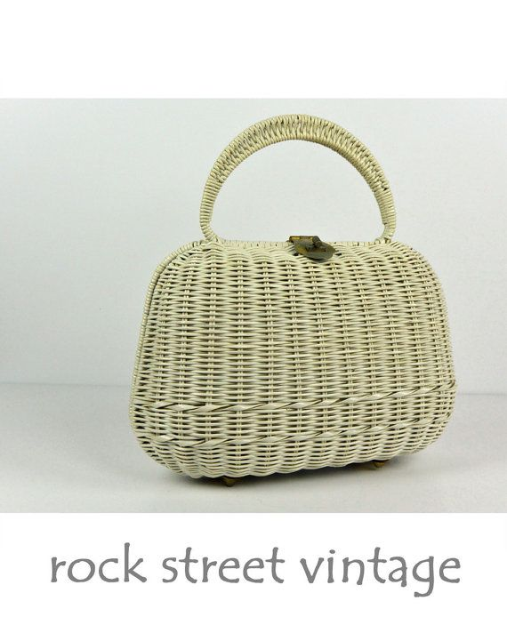 32 best 2017 Trend Report - Vintage Rattan/Straw Handbags images ...