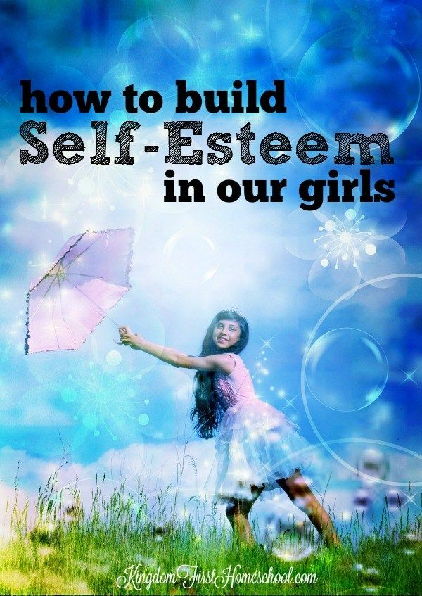 As Mothers, we can all relate to the importance of building self-esteem in our girls. Take opportunities to let them know how special God has made them to be.  Whenever they have something negative to say that is a sign that the enemy is trying to grip them with his lies.