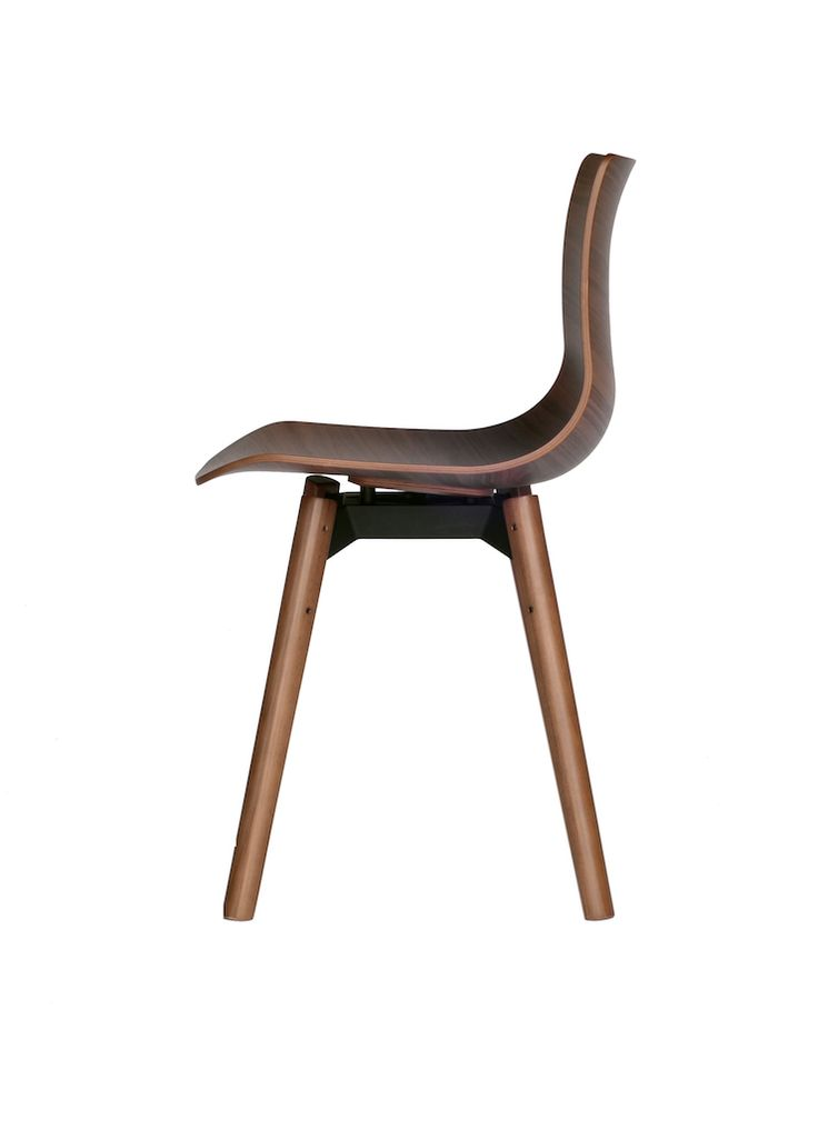 Loku chair - LOKU, UNA SEDUTA IN IMPIALLACCIATURA CURVATA E PRESSATA http://designstreet.it/loku-una-seduta-in-impiallacciatura-curvata-e-pressata/ #designstreetblog
