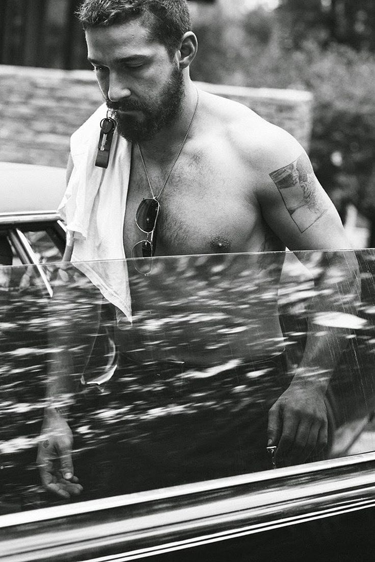 Shia LaBeouf captured by Craig McDean and styled by Karl Templer, for the…