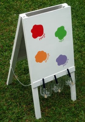how to make a childs easel