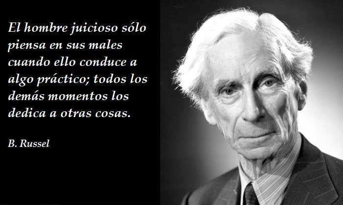 Las mejores frases de Bertrand Russell