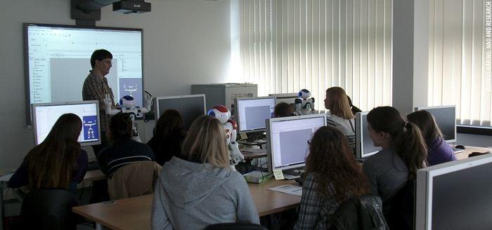 Vive Les Robots! case study: Markus Haering: NAO and Research (2012): http://www.vivelesrobots-education.dk/english
