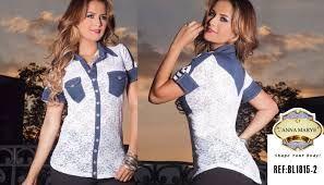 Resultado de imagen para blusa moda colombiana 2016