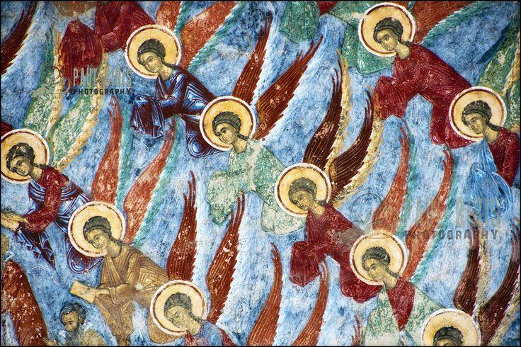 https://flic.kr/p/aT9q3F | Exterior Frescoes Details | Sucevita  Monastery | Bukovina painted  monasteries- Romaina      © Copyright Paul Biris