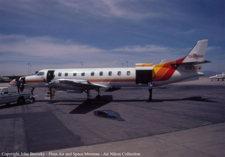 Mid-air collision: Skywest Airlines Flight 1834 & Mooney M20 (1987). Collided over Salt Lake City, Utah. Deaths 10 (all).