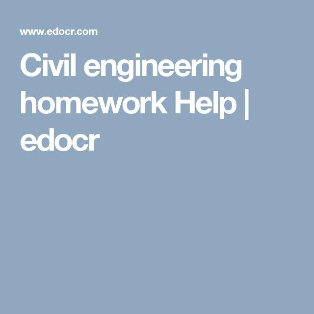 best civil engineering homework help images  civil engineering homework help edocr