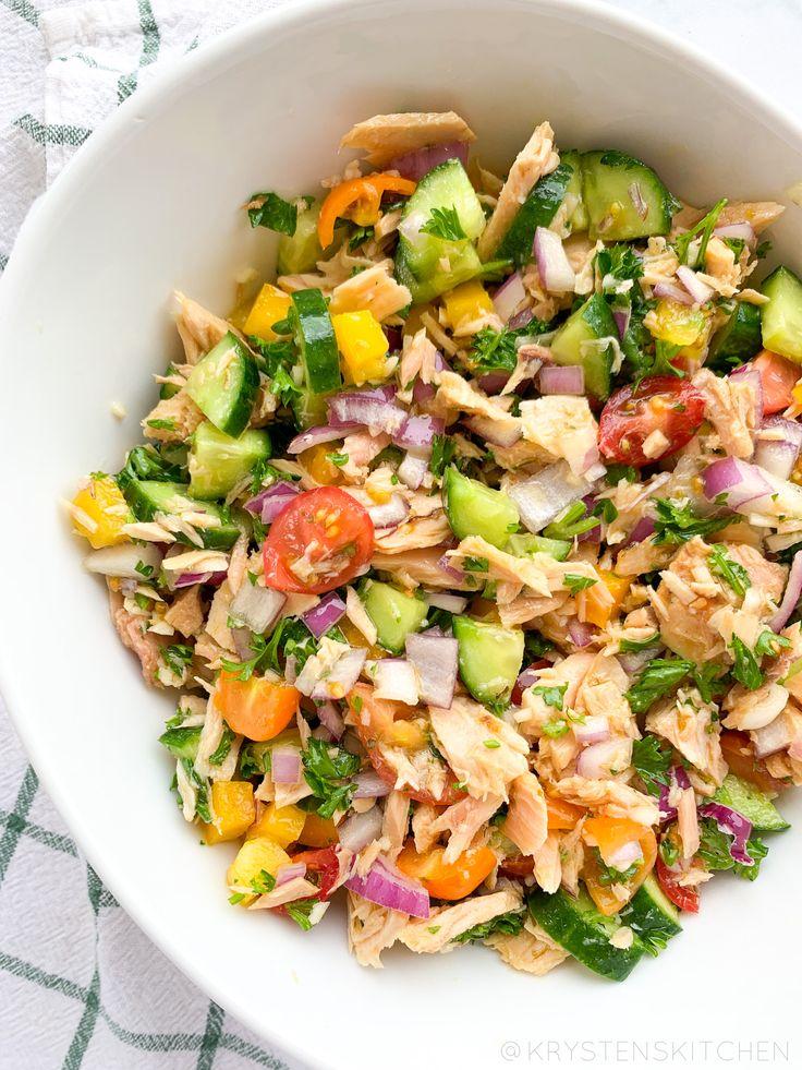 Spring Greek Tuna Salad | Blue Harbor Fish Co. (Gluten ...