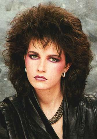 1980's hair & makeup - always, heavy on the blush...http://www.liketotally80s.com/80s-makeup.html