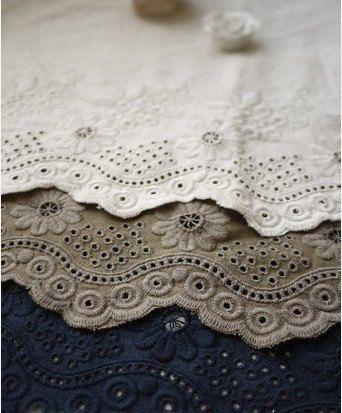Cotton Linen Fabric Cloth DIY Cloth Art Manual Cloth by JolinTsai