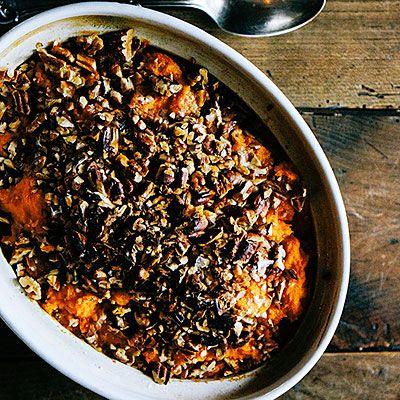 Mashed Sweet Potatoes - Thanksgiving Side Dish Recipes - Sunset
