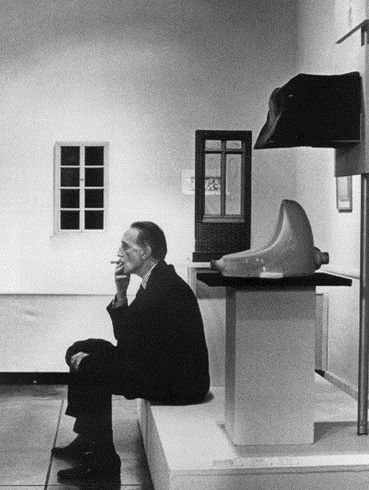 """Ah Duchamp! """"It is art because I say it is art."""" — Call it what you want Marcel just go wash your hands."""