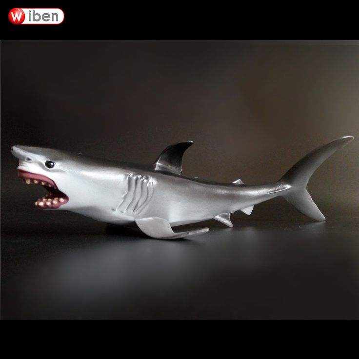 Simulation Animals Sea Shark Carcharodon Action Figures Animals Model Toy //Price: $18.78 & FREE Shipping //     #actionfigure