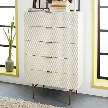 Audrey 5-Drawer Dresser #westelm