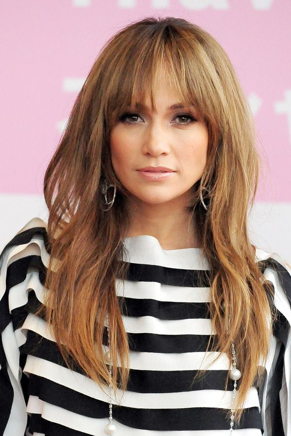 All The Moments In History That Made Us Want Bangs #refinery29  http://www.refinery29.com/2016/08/119268/best-fringe-hairstyle-photos#slide-31  Jennifer LopezIt's a challenge to pick the best J.Lo look, but her elegant bangs always win no matter what....