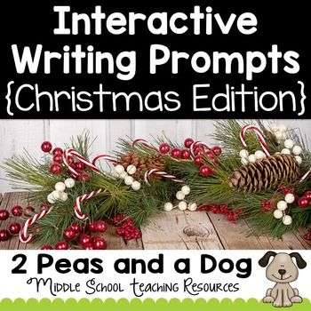 christmas creative writing activities middle school Creative writing worksheets for teaching esl or efl.