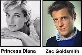 Diana shares a striking physical resemblance to the children of Sir James Goldsmith – Zak Goldsmith, Ben Goldsmith and Jemima Goldsmith. They are allegedly Diana's half brothers and sister.