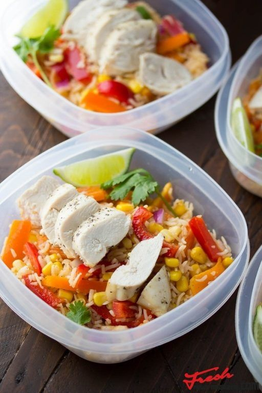 Chicken Fajita Lunch Bowls | Fresh news Magazine. Thats all you need