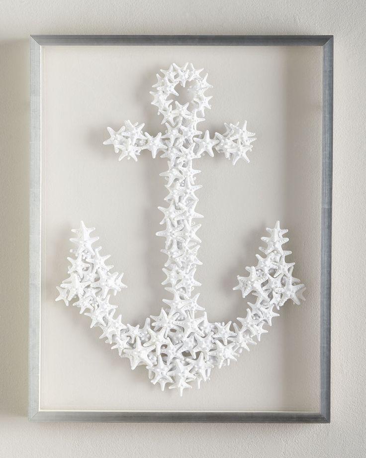 Karen Robertson Collection Starfish Anchor Wall Decor