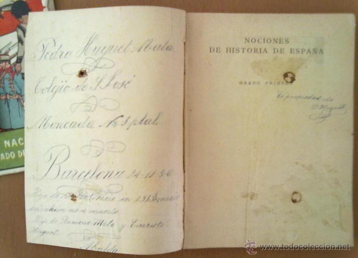HISTORIA DE ESPAÑA. EDITORIAL SATURNINO CALLEJA. ILUSTRACION TAPAS PENAGOS.