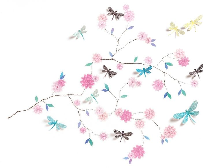Djeco ~ Wall Stickers ~ Dragonflies 3D
