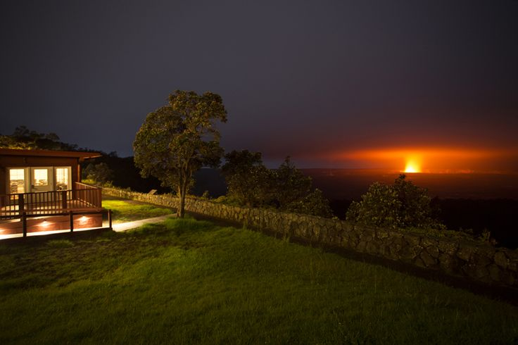 Hot Spot: deluxe | Hawaii Volcano House, at the summit of Kilauea, Hawaii Volcanoes National Park