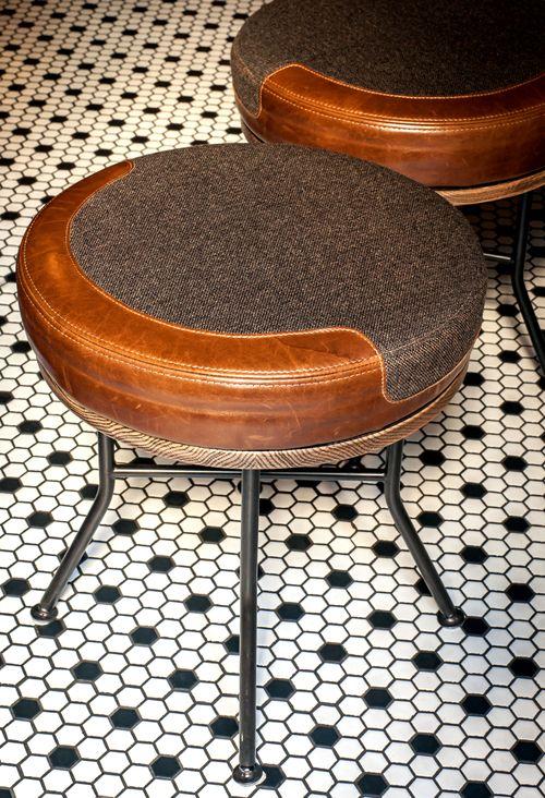 PLDNYC Ward III stool from Ward III bar. http://partsandlabordesign.com/