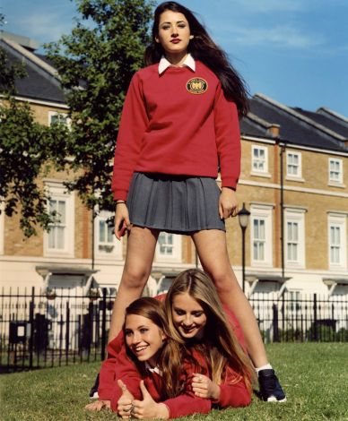 These trio of girls are the biggest trouble makers in Holly's All Girls Private Board School