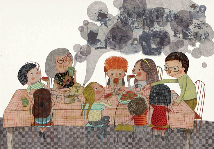 Las guerras, el terrorismo y los desastres naturales provocan movimientos migratorios masivos, como nos cuenta Trenfugiados (La Fragatina). Evelyn Daviddi ilustra un relato de José Campanari.
