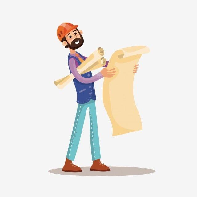 رسمت باليد رسومات الكرتون من عمال البناء رسوم متحركة شخصيات كرتونية عامل بناء Png والمتجهات للتحميل مجانا Drawings Cartoon Hand Painted