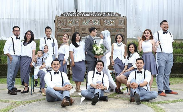 #atrifalah #friends #bridesmaids #groomsmen #hijabbride #weddingmuslim