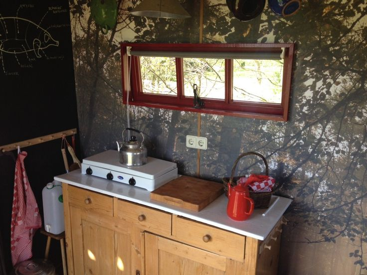 25 beste idee n over jachthut op pinterest kleine hutten - Water kamer model ...