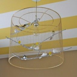 images und efafbeffc birdcage light striped ceiling