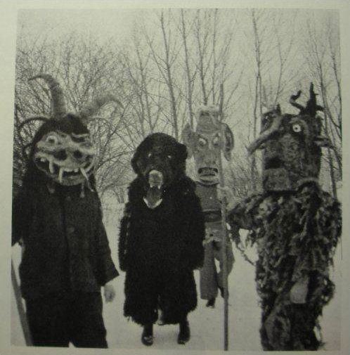 WTF! Is this some sort of Where the Wild Things Are acid trip?! | 21 Vintage Halloween Costumes That Will Make Your Skin Crawl