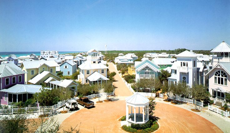Seaside Florida- my future town: Bicycles, Beaches, Favorite Places, Vacations Spots, Letters Cottages, Seaside Florida, Families, The Truman Show, Heavens
