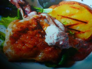un mondo di ricette: pollo al limone - marinato alle erbe