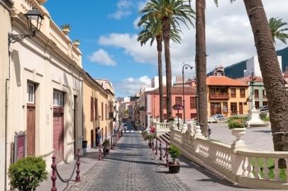 La Orotava on summer day, Tenerife, Spain
