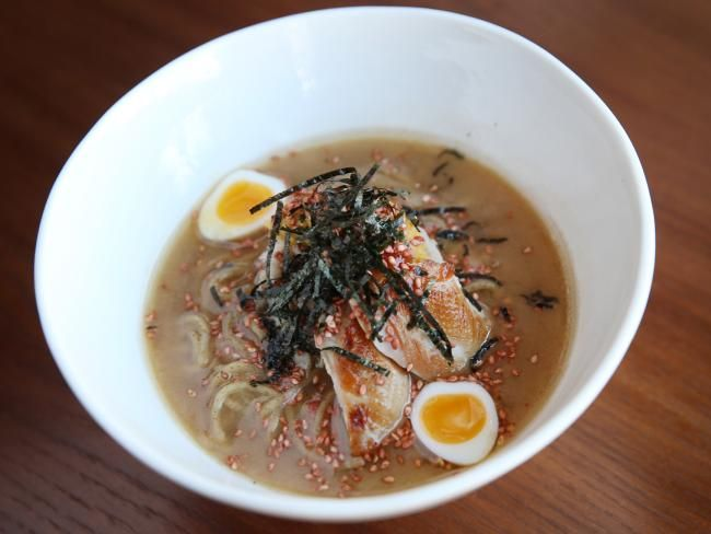 Salaryman: Surry Hills newcomer delivers casual #Japanese with a fine-dining twist. Menu includes Quail Ramen #foodporn #diningout #Sydney
