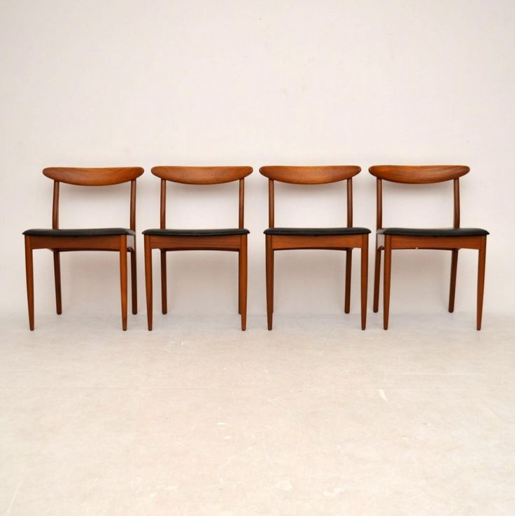Danish Teak Dining Chairs For Sale London