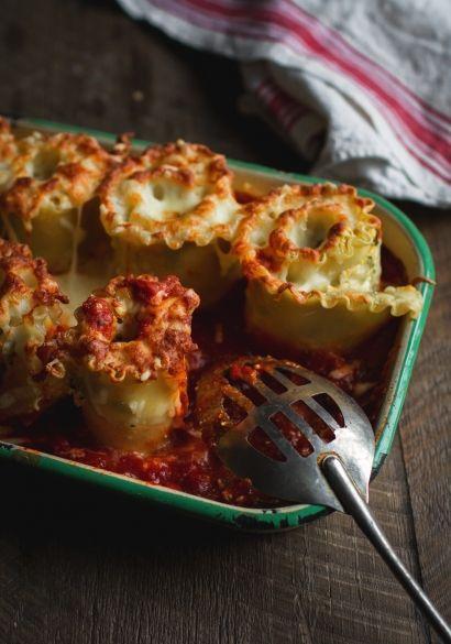 LASAGNES ROULÉES À LA COURGE, RICOTTA & ÉPINARDS rolled lasagna, spinach & butternut squash with ricotta . . .