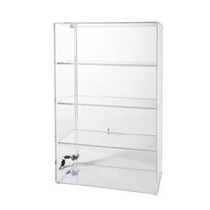 New Glass Display Cabinet with Lock