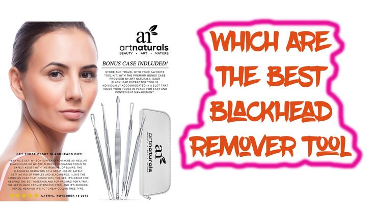 Best Blackhead Remover Tool 2016 Best Blackhead Treatment   1. Art Naturals Blackhead Extractor Tool Set for Facial Acne and Comedones   2. Blackhead and Pimple Remover Kit - Instructions Included - 6 Surgical Extractor Tools - Excellent for Acne Treatment Pimple Popping Blackhead Extraction Zit Removing   3. TAYTHI Bestope Blackhead Remover Pimple Acne Extractor Tool Best Comedone Removal Kit - Treatment for Blemish Whitehead Popping Zit Removing for Risk Free Nose Face skin   Note: This is…