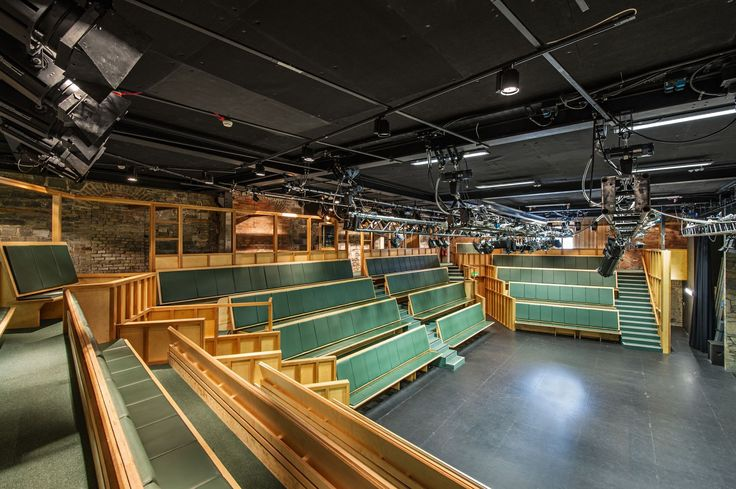 3 sided seating in the Main Theatre Space.