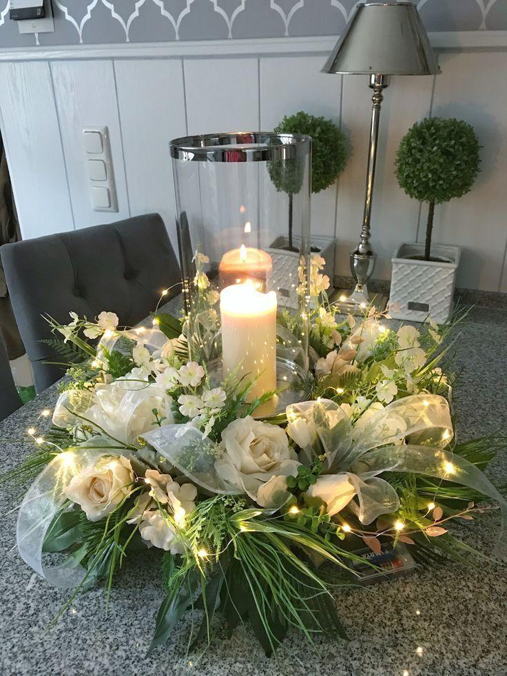 Kranze Christmas Candles Floral Centerpieces Christmas Candle
