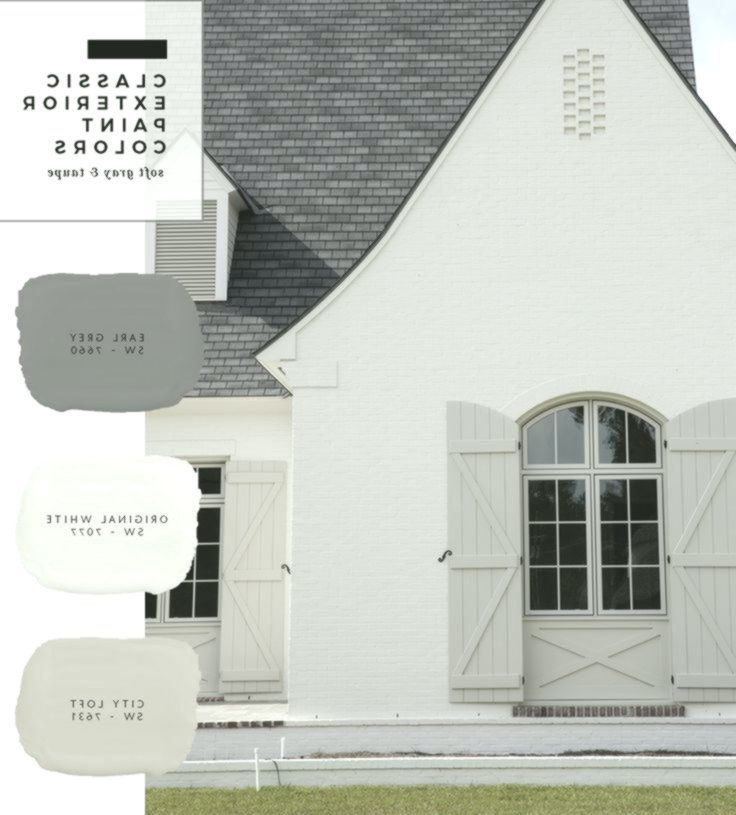 Modern Houseexterior Color Ideas: Exterior Paint Color Combinations (With Images)