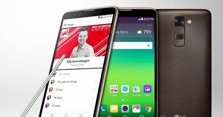 LG's Stylus 2 is the first phone to support DAB+ radio #Tech #iNewsPhoto